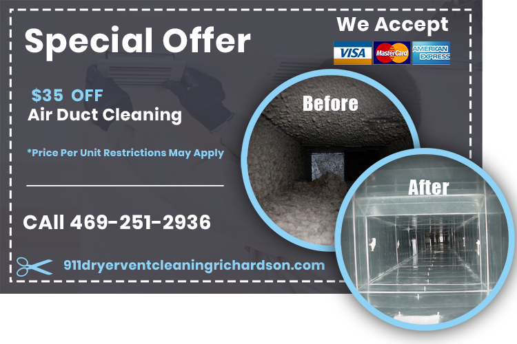 911 Air Duct Cleaning Richardson TX (Affordable) vent cleaner