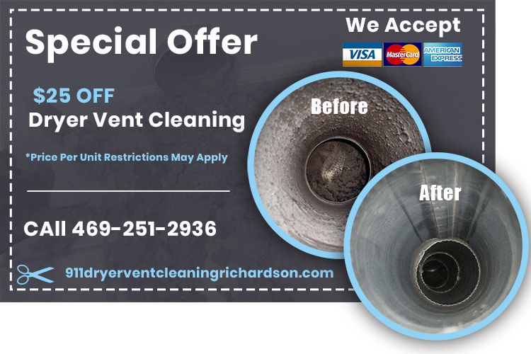 911 Dryer Vent Cleaning Richardson TX: Cheap Lint (Removal)